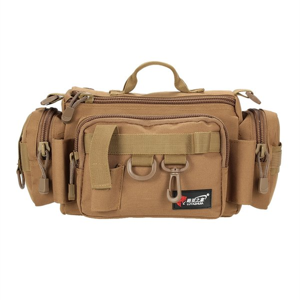 32 * 17 *17cm Multifunctional Fishing Bag Tackle Waist Bag Lure Reel Bait Box Boat Pouch Case for Pesca #501858