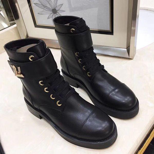 Wonderland Ranger Chaussures Femmes Mode respirant de haute qualité femmes Bottes automne et d'hiver Chaussures Casual talon bas Bottines femme Chaussures