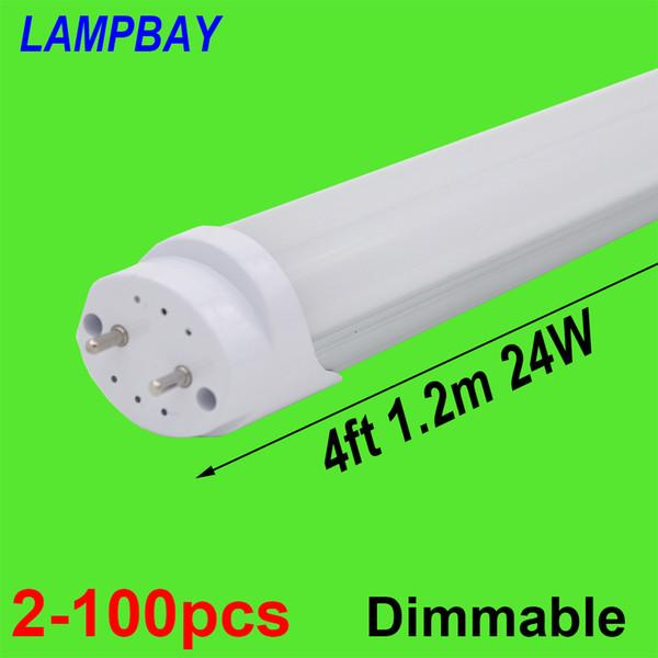 2-100pcs LED-Röhrenlampe 4ft 48