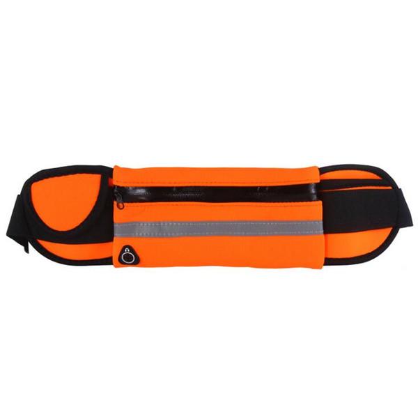 Professional Running Waist Pouch Belt Sport Belt Mobile Phone Men Women With Hidden Pouch Gym Bags Running Belt Waist Pack
