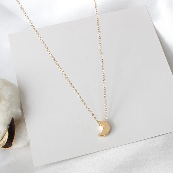 Источник производителя спортивной и досуговой ветровой моды - простота с толстым ожерельем из кулона «Луна» для Европы и Америки.