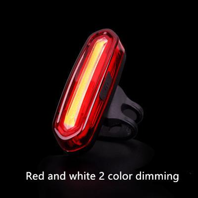 Red and white 2 color dimming
