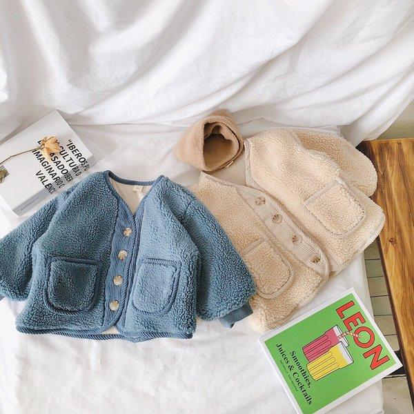 2019 Autumn Winter New Arrival Boys and Girls Fashion Warm Fleece Coat Kids Jackets