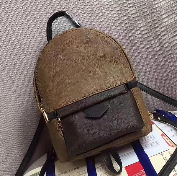 Heißer verkauf Hight qualität Frauen Palm Springs Mini Rucksack PVC Kinder Rucksäcke Designer dame druck Taschen Umhängetasche Umhängetasche 41561