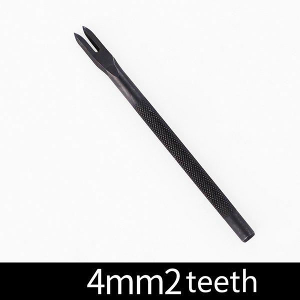 4 mm 2 diş