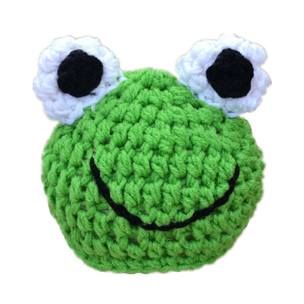 Adorable Crochet Baby Frog Hat,Handmade Knit Baby Boy Girl Animal Beanie Hat,Infant Funny Cap,Newborn Toddler Photography Prop