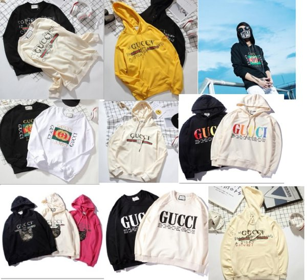 Europa Itay Autunno Moda Uomo Donna Future Luxury Hoody sport outdoor manica lunga Storia Felpe con cappuccio in cotone con cappuccio pullover giacca
