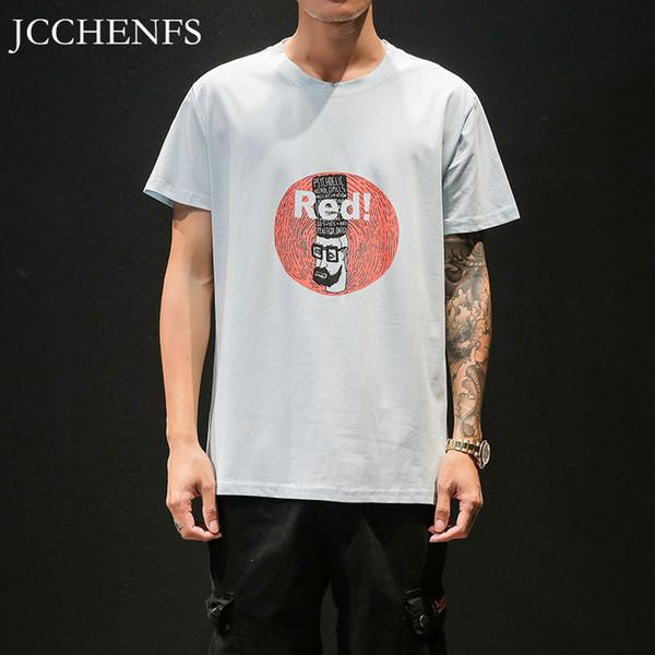 JCCHENFS Brand New T-shirt da Uomo Estate manica corta Moda Top Large Size Hip Hop Streetwear Stampa T Shirt Casual Maschile M-5XL