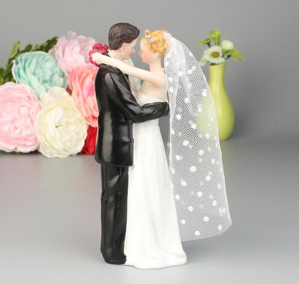 Cria casal estatueta olhos com amor para sempre resina Artesanato ornamentos estilo mini estátua para decoração de casa decoração de festa de aniversário de casamento