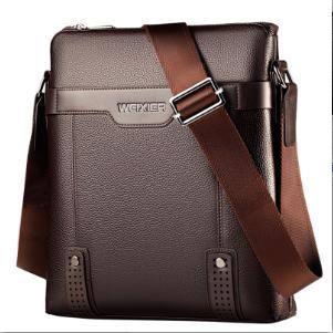 2020 neue Art und Weise PU-Leder-Mann-Kurier-Beutel-beiläufige Beutel Umhängetasche Business Herrenhandtasche für Geschenk der Männer Aktenkoffer