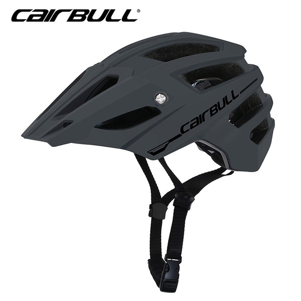 2019 New AllTrack Bike Helmets Mountain OFF-ROAD ENDURO Adult Helmets 56-61cm In-Mold Cycling with Removable Visor
