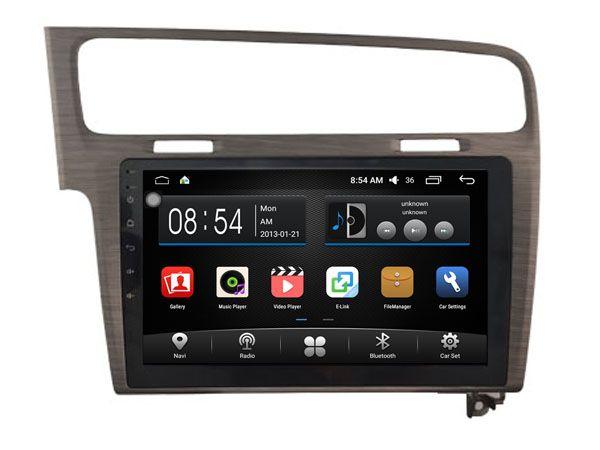 Zhuohan 10,2 polegadas HD Android Car DVD Player para VW Golf 7 com GPS Bluetooth (AD-F2003)