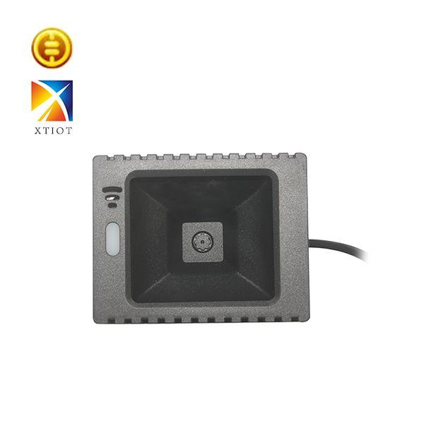 XT2002 Escáner de códigos de barras QR 1D 2D integrado y rentable Módulo Escaneo Código QR DM PDF417 Escáner de código de barras de ángulo de escaneo grande