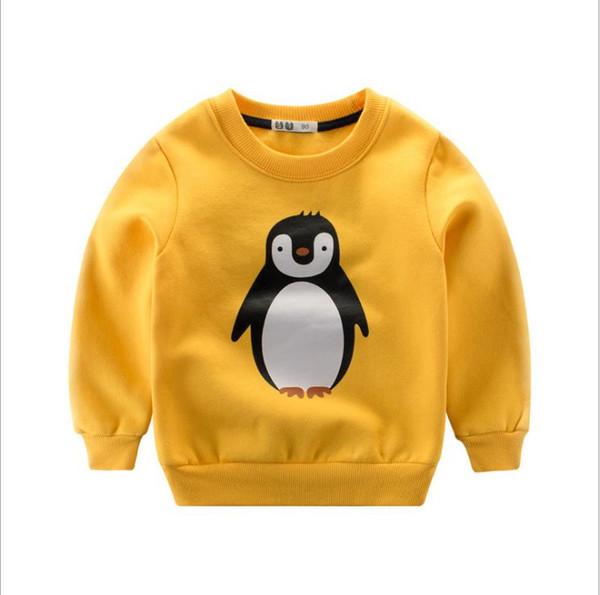 2-7T boys girls winter fashion sport hoodies cartoon warm fleece sweatshirt children clothes baby kids coat jacket clothing