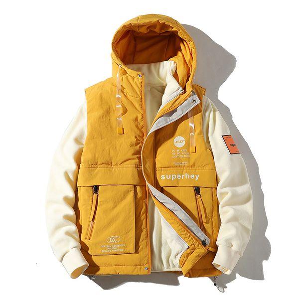 Amarelo-Jacket Vest