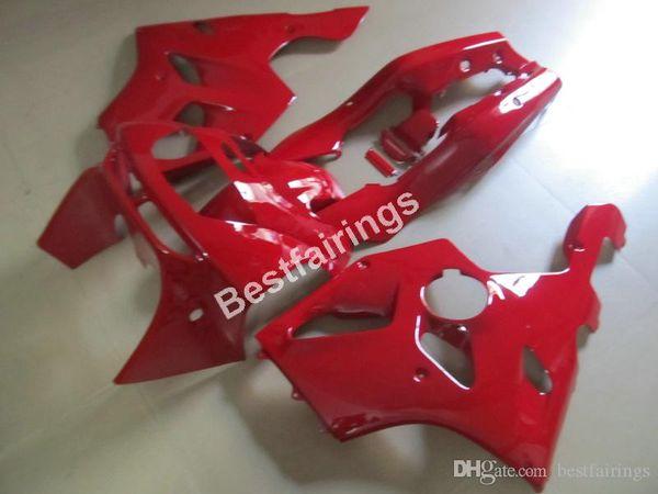 Free customize fairing kit for Kawasaki Ninja ZX6R 1994 1995 1996 1997 red fairings set ZX6R 94 95 96 97 MT23
