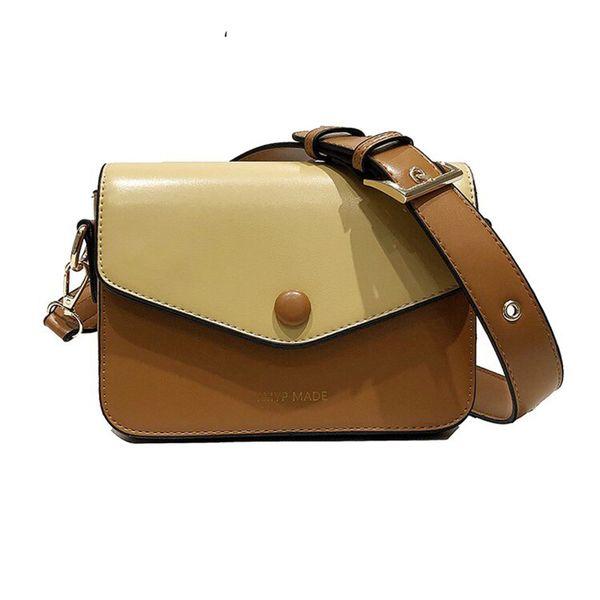 Высокое качество шишка цвет Pu кожа крест тела мешок женская сумка 2019 широкий плечевой ремень поперечного тела женская сумочка маленькая