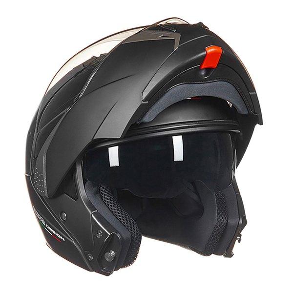 BEON New Filp Up Motorcycle Helmet Crash Hemelt Breathable Comfort Double Lens Chopper Motorbike Helmet For Motorcycle