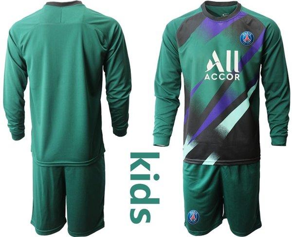 New PSG goalkeeper green