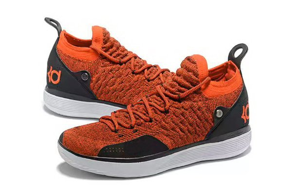KD 11 university red Kids shoes cheap sales new Kevin Durant 11 Boys Basketball shoes free shipping US4-US12