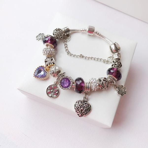 925 Sterling Silber Haben Briefmarken Pandora Schlangenkette Designer Armband Armreif für Dame Design Frauen Party Hochzeit Luxus Schmuck Liebhaber Geschenk
