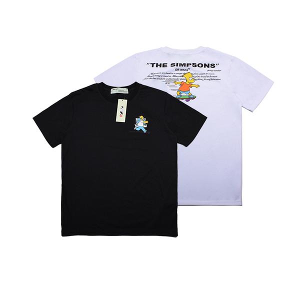 A mais recente hot homens e mulheres de manga curta t-shirt de malha de algodão stretch bordada Tige t-shirt Mer impresso flores n51
