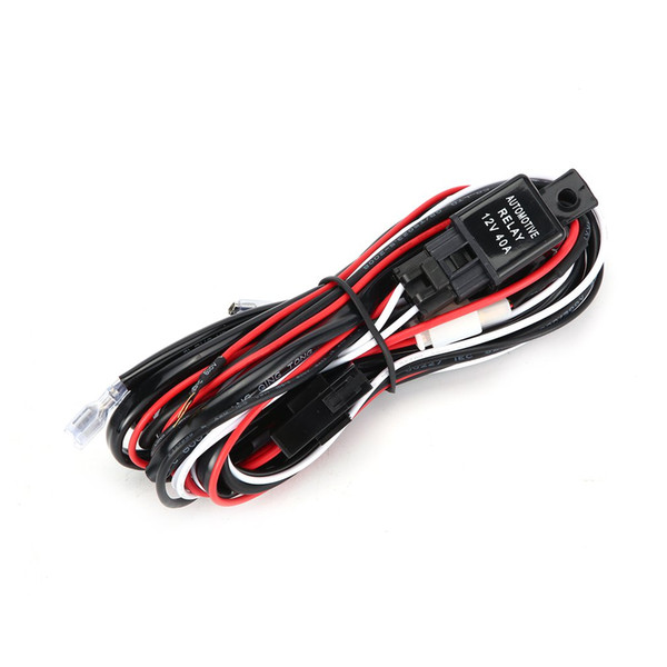 automotive wire harness kits 2020 2 5m led hid driving wiring harness kit fog spot work light  led hid driving wiring harness kit
