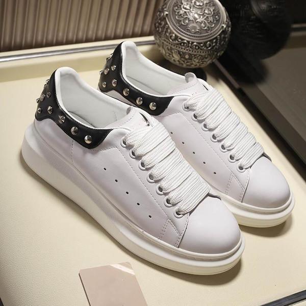 Роскошные туфли моды НЕГАБАРИТНЫЕ SNEAKER Brand Real кожи высокого качества вскользь ботинок Размер 38-44 Модель 272688787