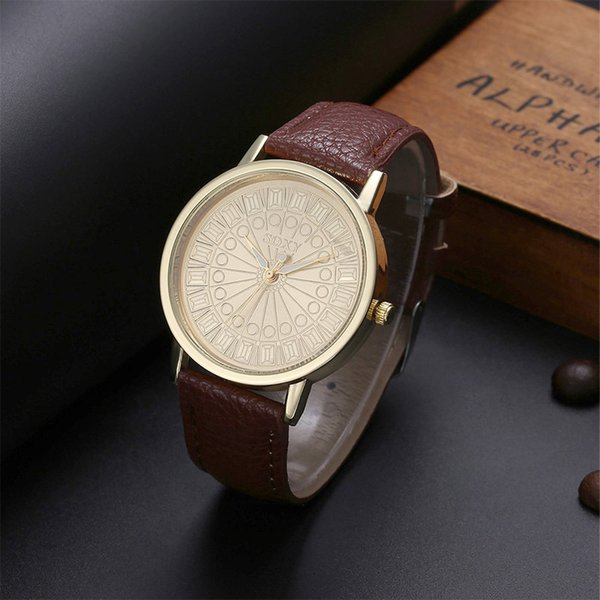 2019 New Fashion Roman Numerals Dial Watch Women SOXY Luxury Watch Casual Leather Quartz Watch Hour Clock TME0035