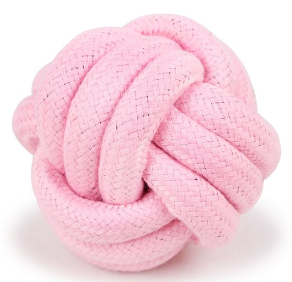 2019 Pet Supply Dog Training Rope Ball Toys Interactive Toys For Small Dogs Cat Dog Candy Pets Rope Ball Toy