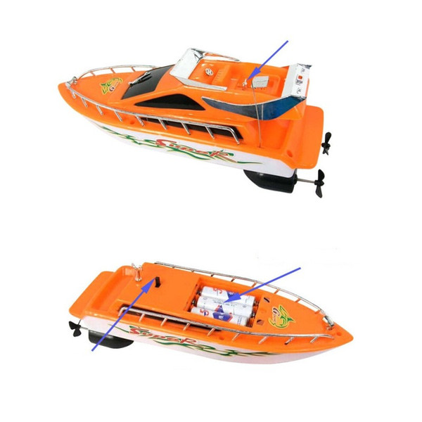 Plastic Remote Control Boat For Kid Mosquito Boats Alpinia Navigation Model Children High Quality Popular New Arrival 22ml D1