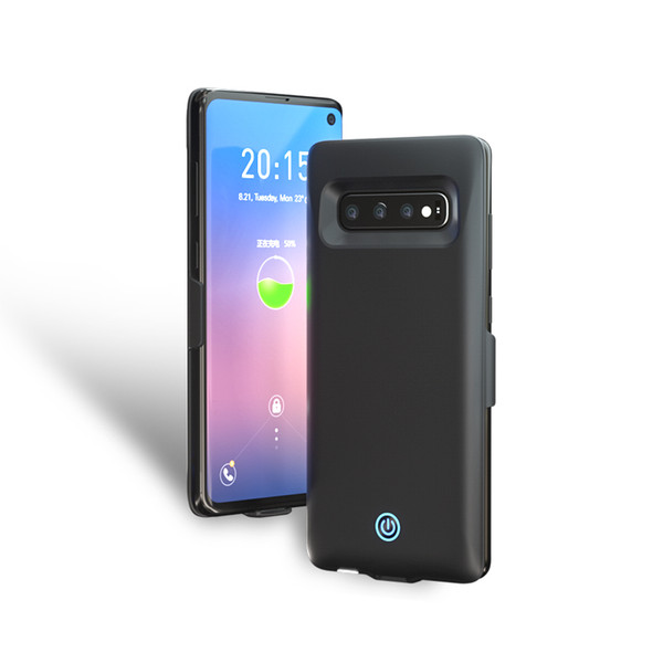 Power Bank Back Case for Samsung Galaxy S10 S10+ S10e 7000mAh Portable Phone Backup Battery Case Powerbank with Retail Package