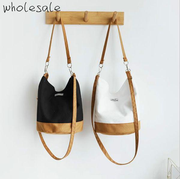 2019 новый дизайнер плечо сумки холст ведро сумки женщин известных марок дизайнера сумок высокого качества Cross Body B102312D