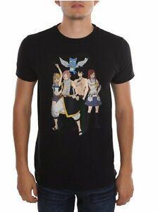 Peri Kuyruk Ana Grup Anime Lisanslı Yetişkin T Gömlek