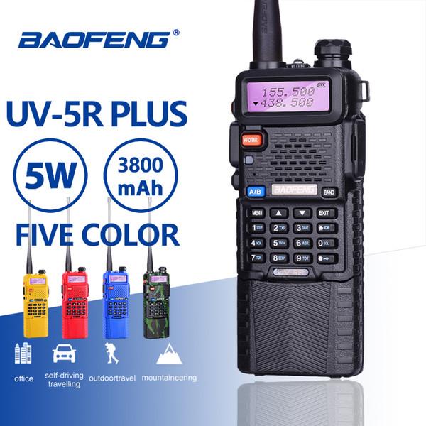 Baofeng UV-5R 5W 3800mAh 7.4V Batterie Walkie Talkie UV 5R Tragbares UHF VHF 136-174MHz 400-520MHz Zweiwegefunk Ham PTT CB Radio
