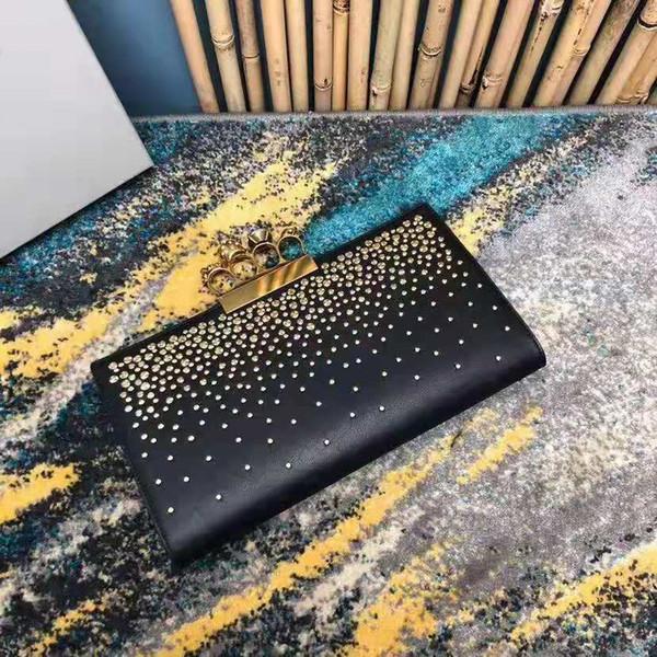 Freies Verschiffen !!! 19SS AAAAAAA Qualität Luxus Top-Qualität, Schädel-Handtasche mit dimond, Jahrgang echtem Leder-Kette Tasche Deesigner Taschen