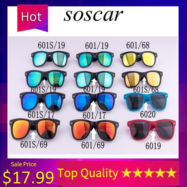 4105 Folding Sunglasses Brand Designer Sunglasses for Man Woman UV400 Protection Metal Hinge Flash Mirror Lenses 50mm 54mm with Folding Box