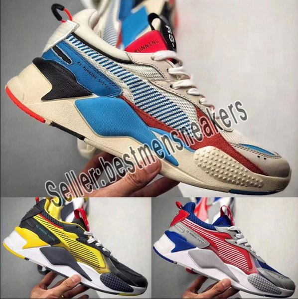 Mens RS-X Toys Release Running Shoes for Men Sneakers Male Sneaker Womens Jogging Women Sports Female Trainers Boys Chaussures Girl