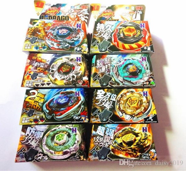 best selling Kid Child Boy Toy Spinning Tops Clash Metal 4D Beyblades Beyblade 8Style BB105 106 108 109 111 114 117 Limited Edition