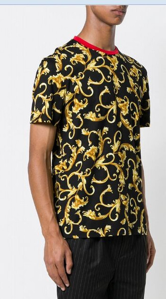 2019 famosa marca mais recente t shirt gola redonda de manga curta t de algodão moda confortável bonito dos homens das mulheres t camisa