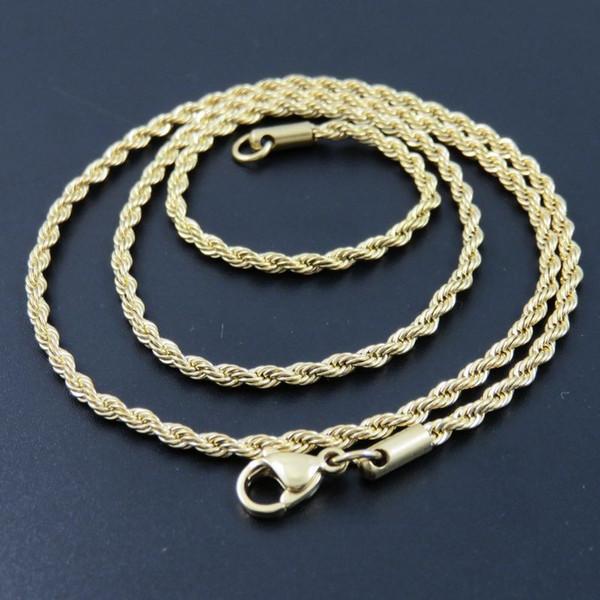 Cheap цепь Oulai777 цепи мужское ожерелье из нержавеющей стали женщины мужские аксессуары мода 2019 длинные ожерелья украшения на шее