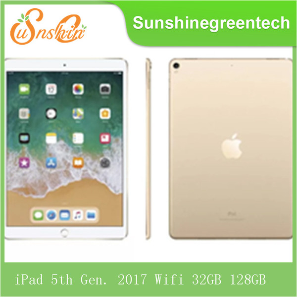 "best selling Original Refurbished Apple iPad 5th Generation 2017 wifi iPad 5 Touch ID 9.7"" Retina Display IOS A9 refurbished Tablet Wholesale DHL"