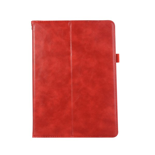 half Genuine Leather Tablet case for iPad 5 6 Air Air2 pro 9.7 shockproof pu leather tablet case