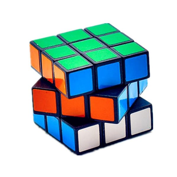 Magic Cube Classic Toy 3x3x3 Sticker Block Speed Colorful Learning&Educational Puzzle Cubo Magico For Children Toys VB