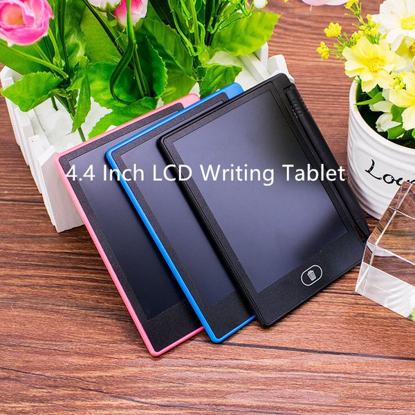 LCD 4.5 inch Writing Tablet Led writing board Blackboard Handwriting Pads Paperless Notepad Whiteboard Memo With Upgraded Pen new DHL free