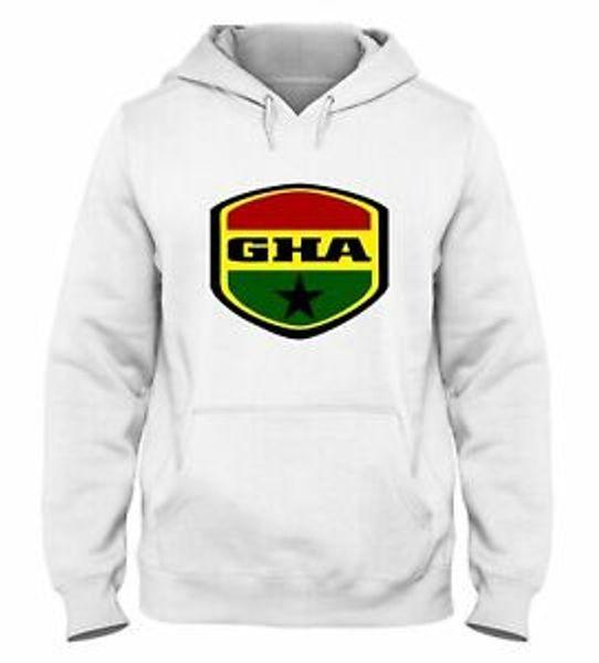 Hooded Sweatshirt Fur Man White WC0149 Ghana