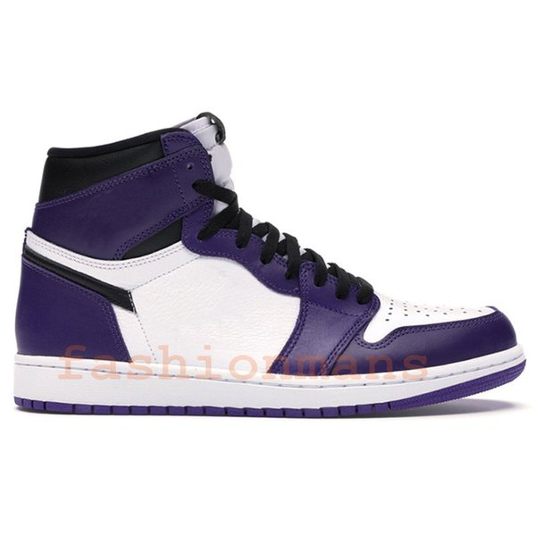 court purple white