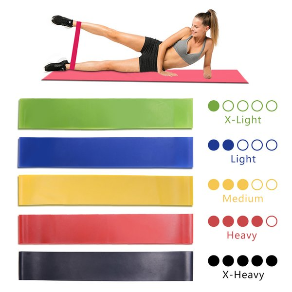 ZSOOQ Resistance Bands Workout Rubber Loop Yoga Gym sport weerstand band for training Fitness gum tape Equipment