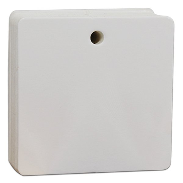 6x6cm Quadrato Bianco