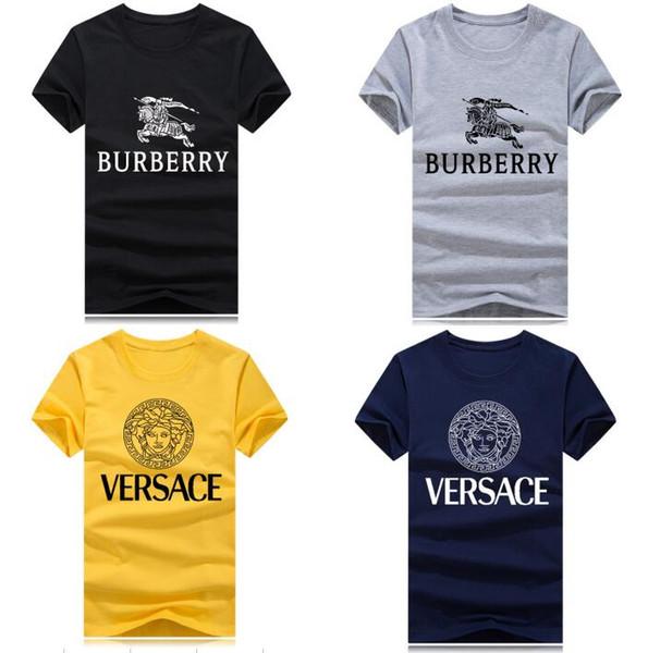 Magliette calde Magliette creative per uomo estate cotone T-shirt Bodybuilding 2018 streetwear Magliette divertenti per ragazzi Taglie forti8 colori